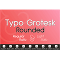 Thumbnail for Typo Grotesk Rounded