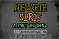 Thumbnail for newbie serif
