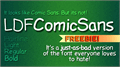 Thumbnail for LDFComicSans