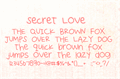Thumbnail for Secret Love