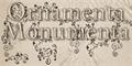 Thumbnail for Ornamenta Monumenta