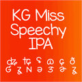 Thumbnail for KG Miss Speechy IPA
