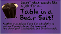 Thumbnail for Table in a Bear Suit