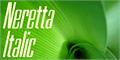 Thumbnail for Neretta Italic