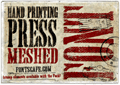 Thumbnail for Hand Printing Press Meshed_demo
