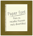 Thumbnail for paperfont1