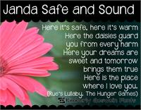 Janda Safe and Sound font by Kimberly Geswein