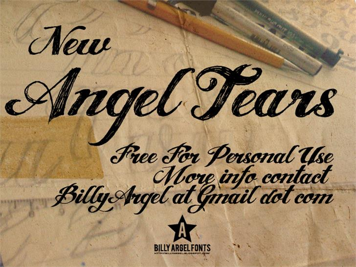 ANGEL TEARS Font Download