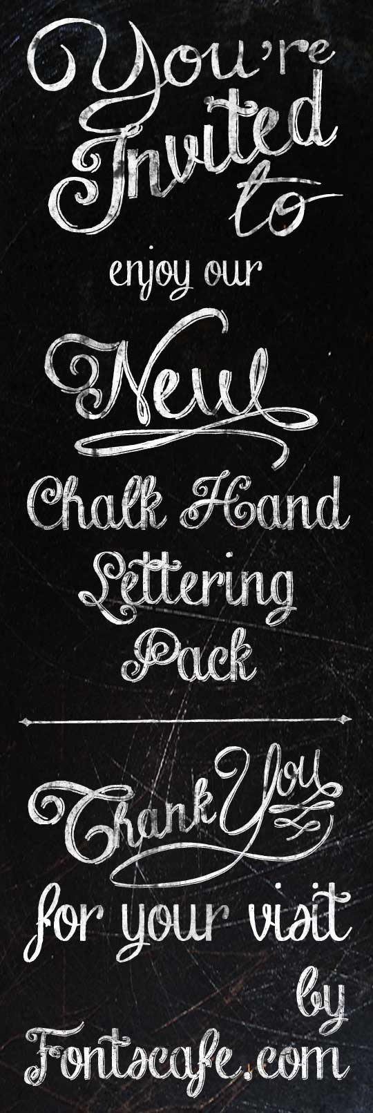 Chalk-hand-lettering-shaded_dem font by FontsCafe